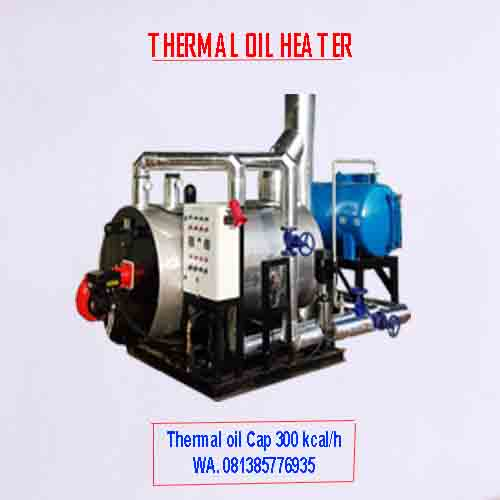 Thermal oil heater cap 300 kcal