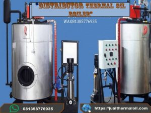 Boiler uap steam vertikal