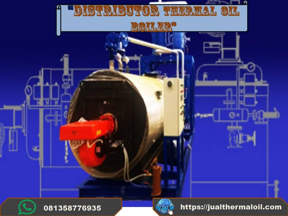 Thermal oil boiler AMP aspalt