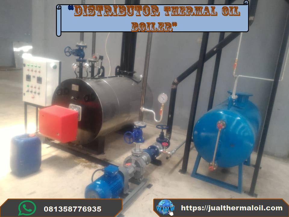 Thermal oil heater 200.000 Mcal
