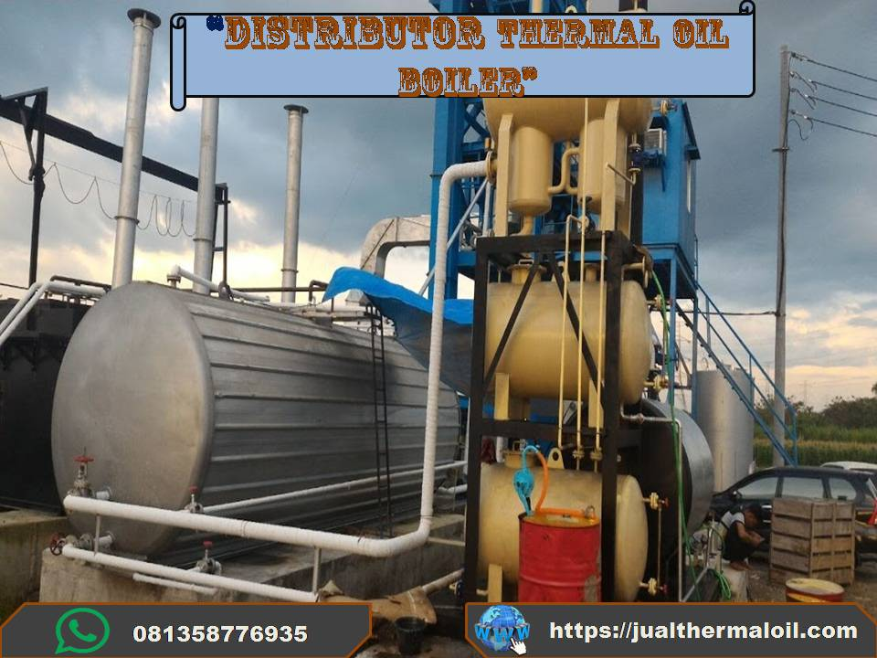 Thermal oil heater 400.000 Kcal