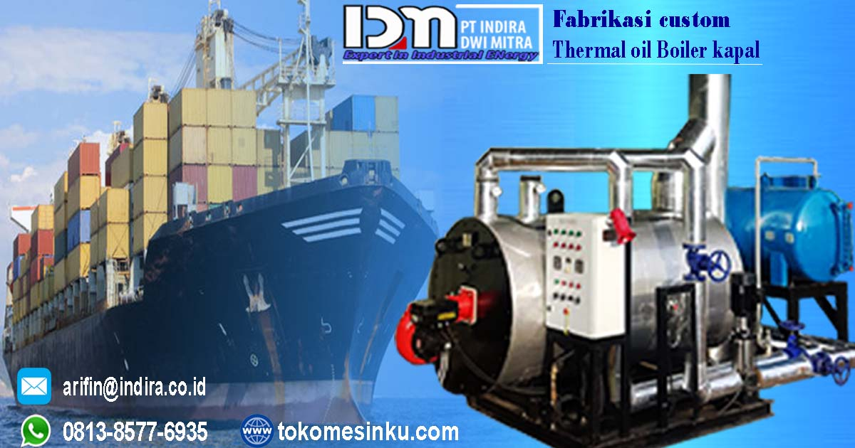 Thermal oil heater kapal