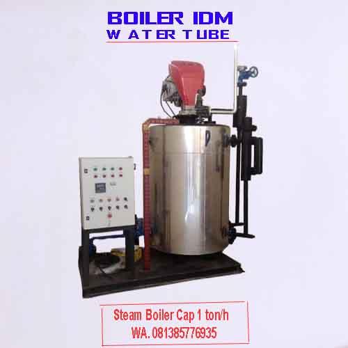 Steam boiler cap 1 ton