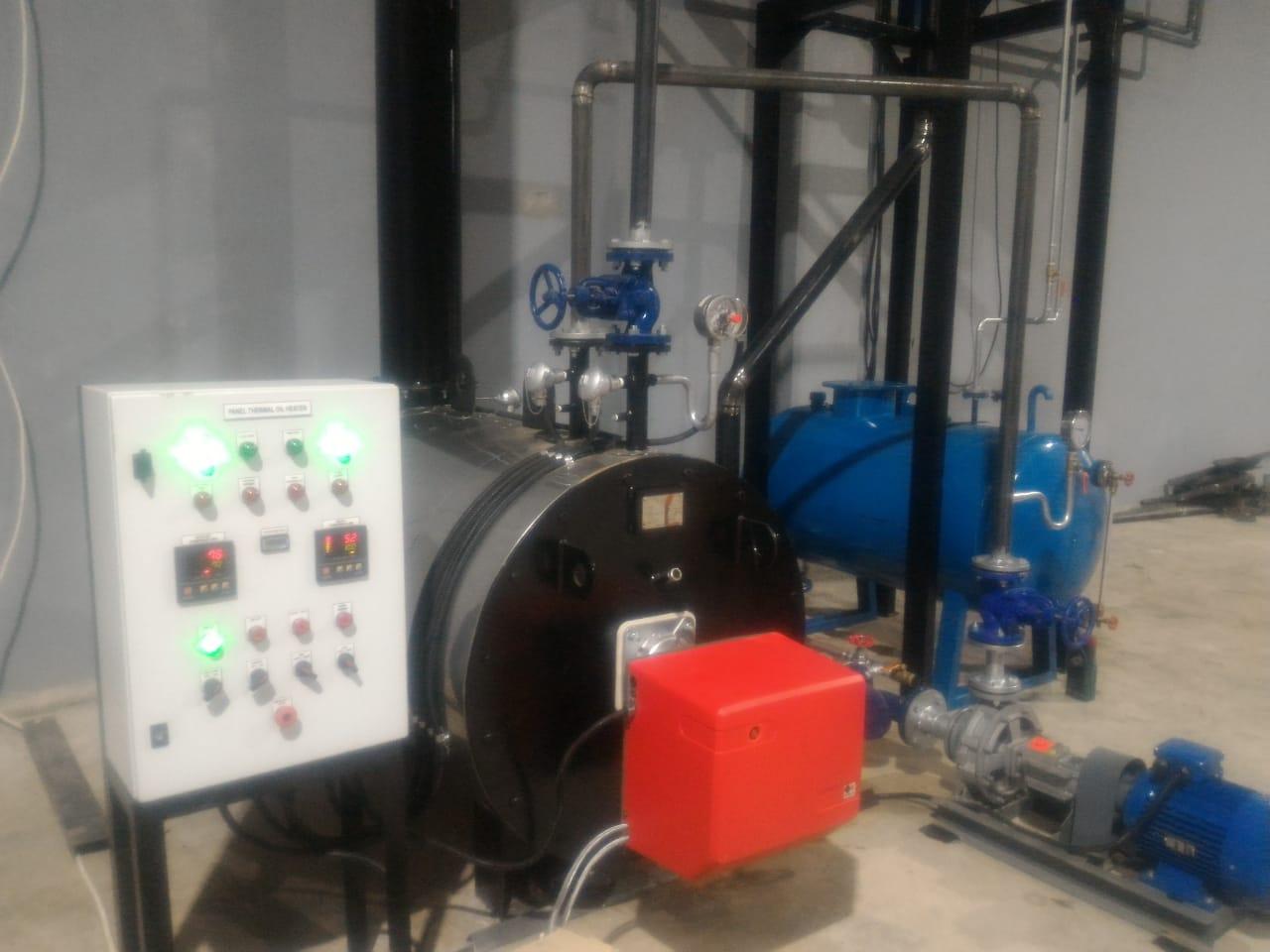 Thermal oil Heater HTO