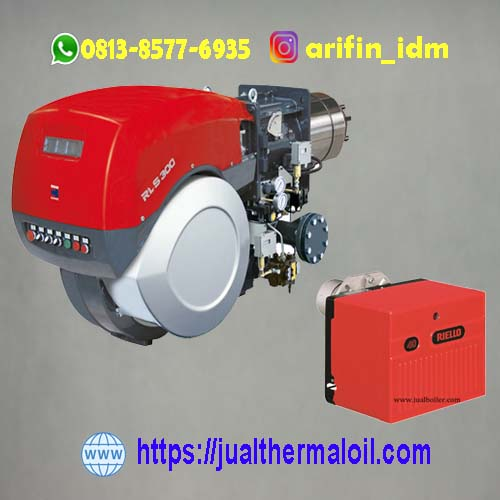 Distributor burner riello