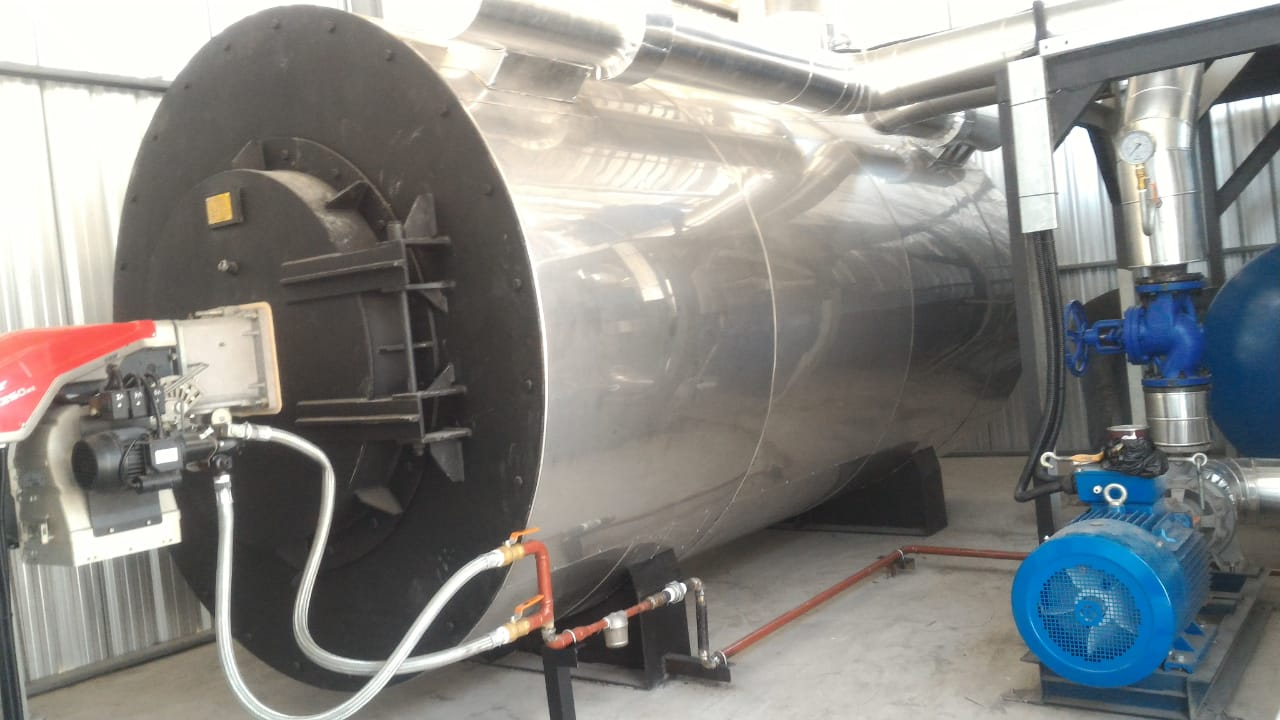 Boiler thermal oil 2 jt kcal