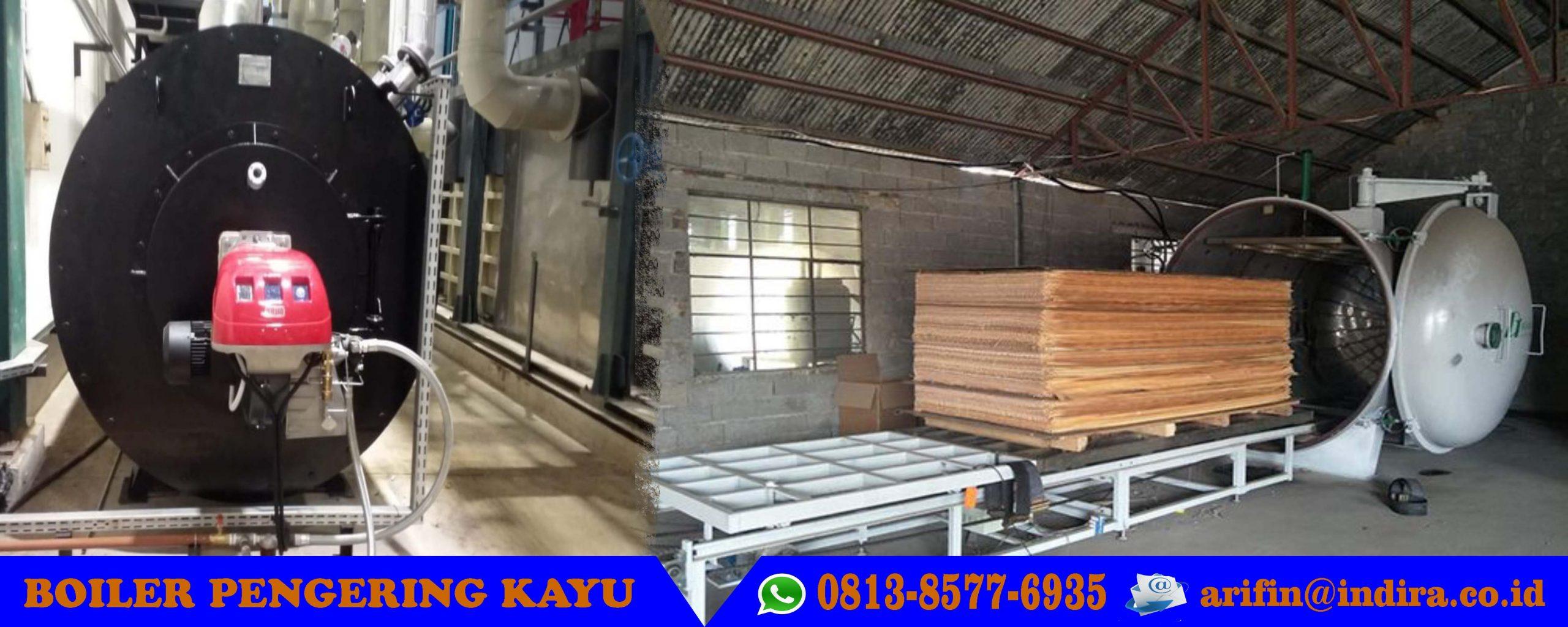 Boiler pemanas kayu
